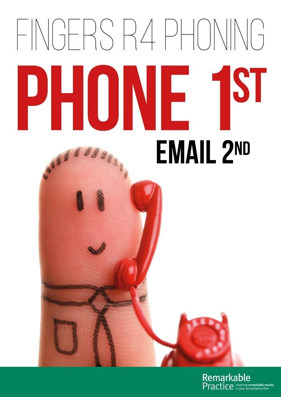 Phone 1st Email 2nd